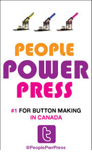 People Power Press - Button Makers